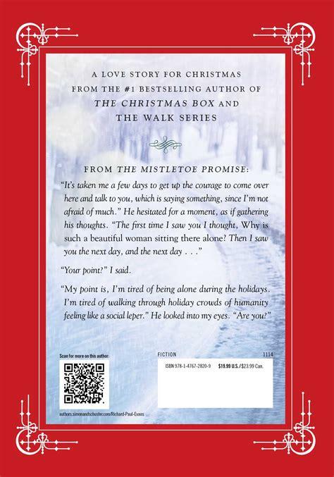 the mistletoe promise the mistletoe promise book by richard paul