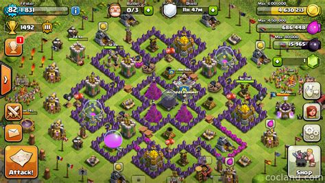 offensive layout in coc offense and defense which is the best clash of clans tips