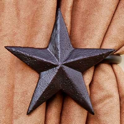 star curtain tie backs western star curtain tieback for lodge or cabin