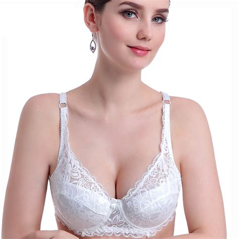 Bra Renda Lace Bra Renda 3 4 cup push up lace bra thin section b cup bra for sheer bra soutien