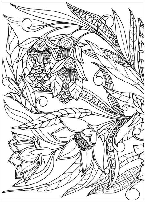 vintage coloring pages pdf vintage flower coloring pages on behance