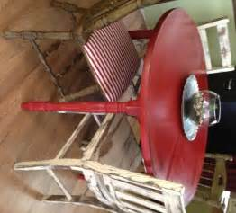 Distressed round kitchen table chairs b vintage home decor