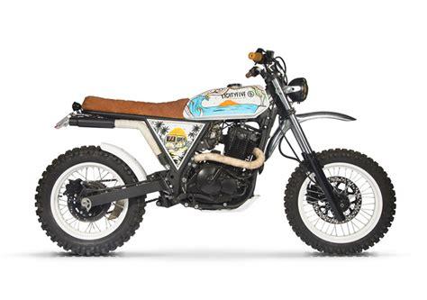 Suzuki Zr 650 Suzuki Dr650 Scrambler By 85 Motorcycle Bikebound