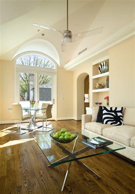 modern addition contemporary living room dc metro
