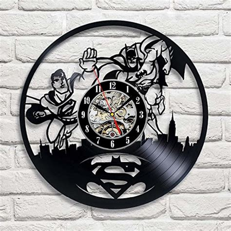 Jam Dinding Unik Artistik Owl Wall Clock Limited batman arkham city logo best wall clock decorate your home with modern large gift