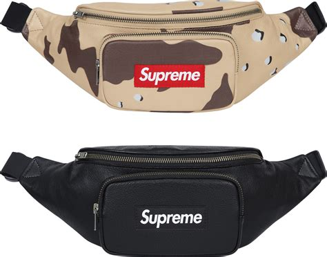 Weist Bag supreme leather waist bag