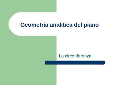 Dispense Geometria by Circonferenza Dispense