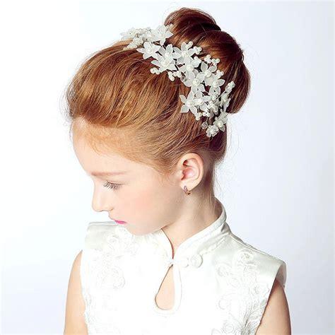 Handmade Hair Style - handmade flowers children hair flower princess