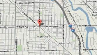 Wicker Park Chicago Map by Man Beaten Robbed In Wicker Park Tribunedigital