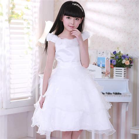 Dress Anak Set 6 aliexpress buy 2017 dresses for 12 years white flower wedding