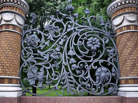 Decorative Privacy Fences by Wrought Iron Fence Read My Experience And Tips