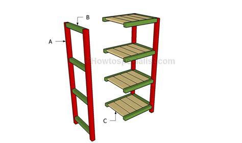 Bathroom Etagere Plans Small Etagere Plans Howtospecialist How To Build Step