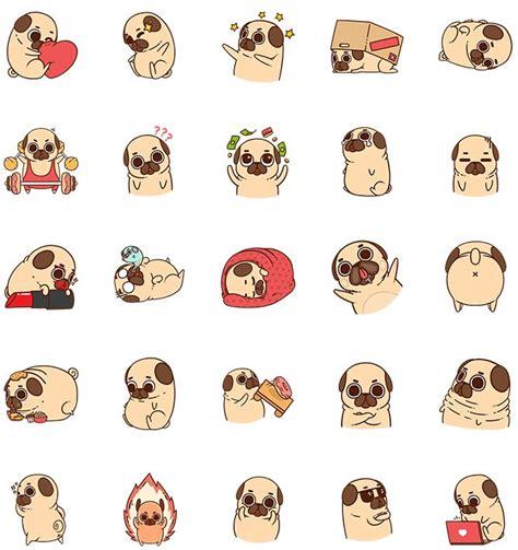 puglie pug shop mycamfrog stickers