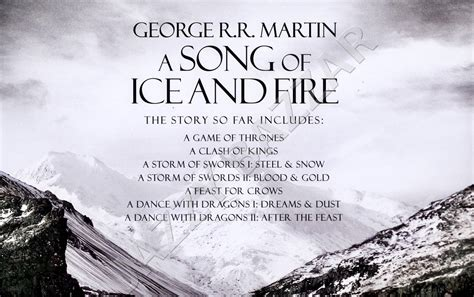0007477155 a song of ice and game of thrones book set 7 volume box set a song of ice