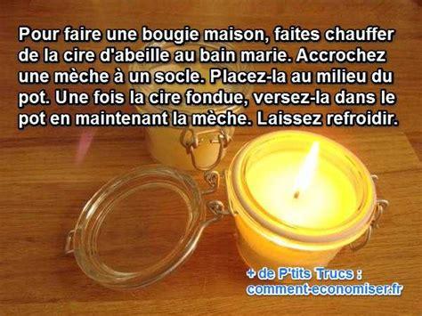 Comment Fabriquer Des Bougies Maison by Comment Faire Des Bougies 224 La Cire D Abeille Facilement