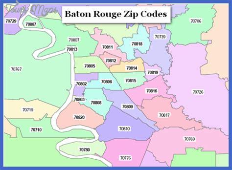Zip Code Map Baton Rouge | baton rouge metro map toursmaps com