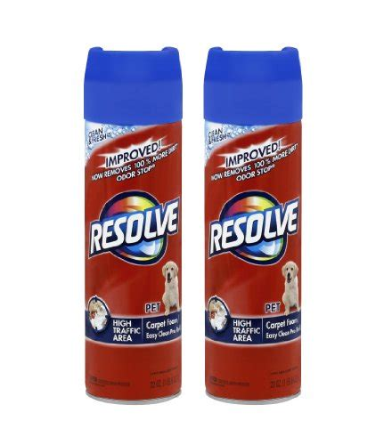 Resolve Multi Fabric Upholstery Cleaner by Resolve Carpet High Traffic Foam 22 Ounce Pack Of 12