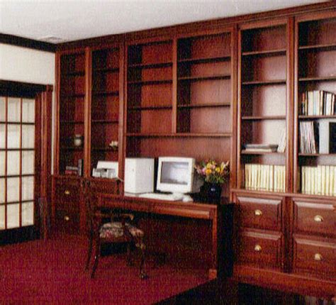 office library home offices libraries