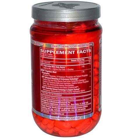 Suplemen Nitrix bsn nitrix a m to p m vaso muscular volumizer 360