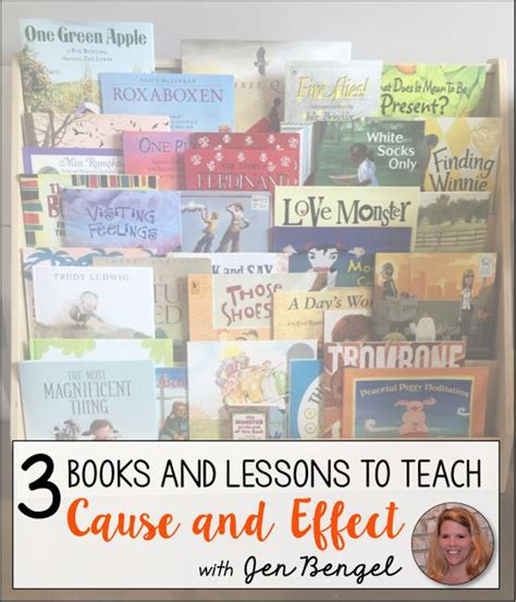 teaching cause and effect with picture books 3 books and lessons to teach cause and effect cause and