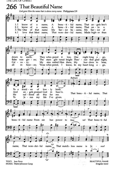 The Celebration Hymnal: songs and hymns for worship 266. I