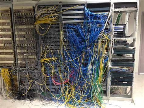 bad server room image gallery bad cabling