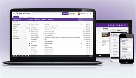 new layout for yahoo mail redesign brings some gmail smarts to yahoo mail wired