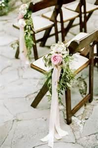Blush Chair Sashes Glamorous Meet Wedding Chair Flower Decoration Ideas Weddceremony Com
