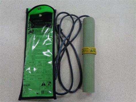 Greenlee Pvc Heating Blanket by Greenlee Pvc Heating Blanket 1 2 To 1 1 2 Tzsupplies