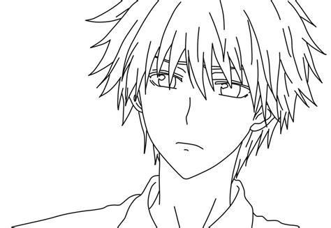 imagenes para pintar anime dibujos manga para pintar dibujos manga para colorear
