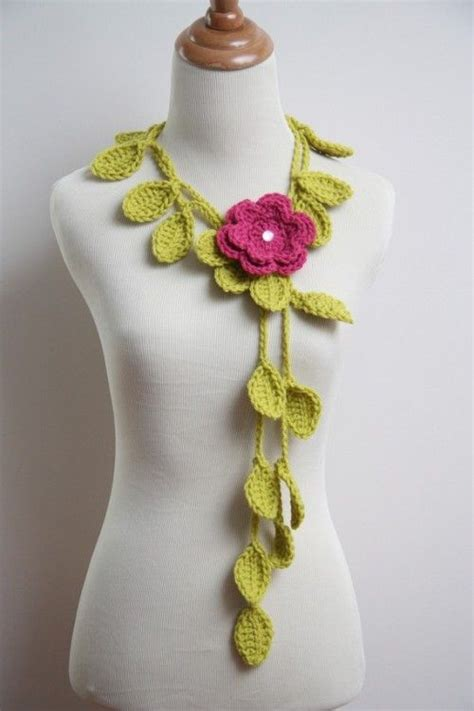 crochet pattern jewelry crochet jewelry patterns jewelry patterns and leaf