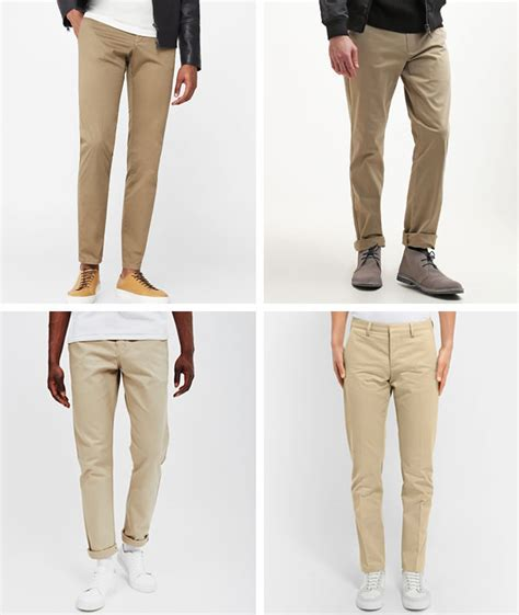 6 chino colours every should own wstale