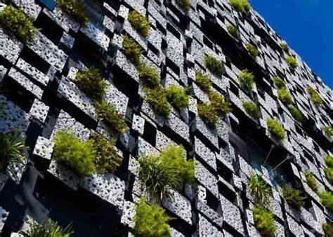1 Bedroom Condos green walled facade conceals building s mechanicals