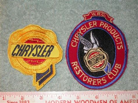 Walter P Chrysler Club by Purchase Walter P Chrysler Club And Chrysler Patches