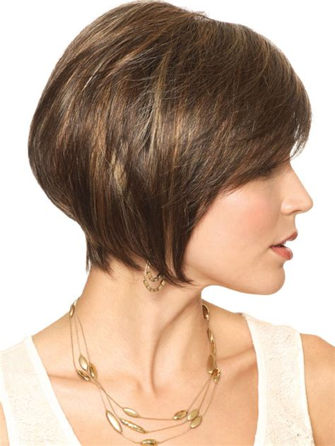 how cut double short bob amore cassidy wig short bob with double monofilament and