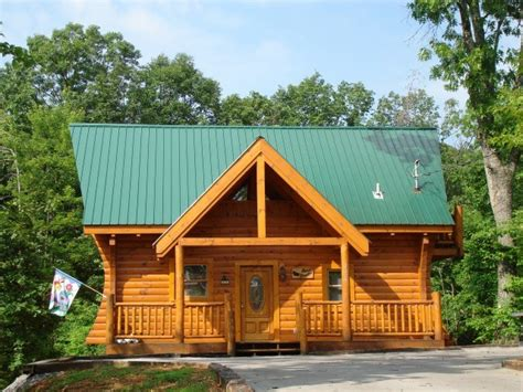 almost paradise 1 bedroom cabin rental in sevierville tn