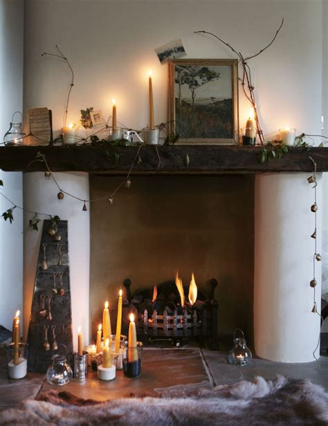 candles fireplace cave sweet cave pinterest
