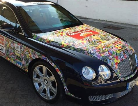 Auto Sticker Bomb by Energy Drink Style Stickerbomb With Adt Car Wrap Direct