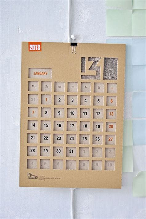 design html calendar 41 cool creative calendar design ideas for 2014 web