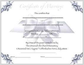 Marriage Certificate Templates Free Pics Photos Printable Certificates Marriage Templates