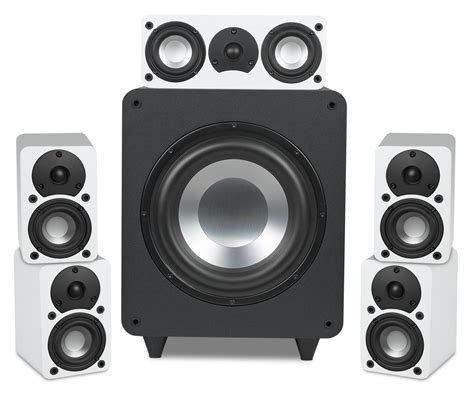 rbh sound cinema 5 compact home theater system
