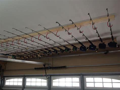 Fishing Pole Garage Storage Ideas 25 Best Ideas About Fishing Rod Rack On Rod