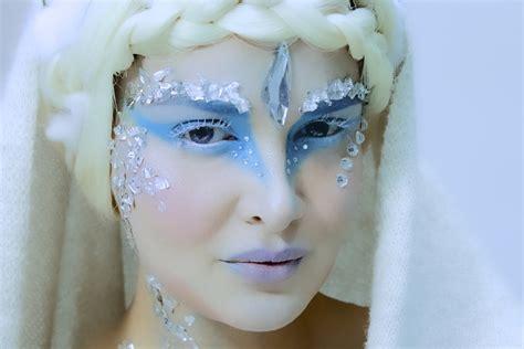 Makeup Tutorial Snow Queen | snow queen fantasy makeup tutorial youtube
