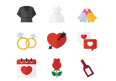 Wedding Icon by Wedding Flat Icon Free Vector Stock