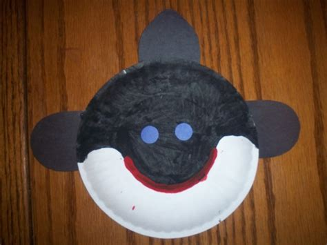 Whale Paper Plate Craft - image result for http www makinglearningfun