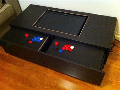 diy arcade machine coffee table ikea hackers ikea hackers