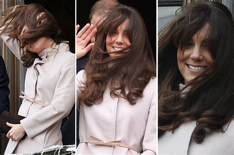 hair styles blown by the wind kate middleton adopts new hairstyle she s not sure for