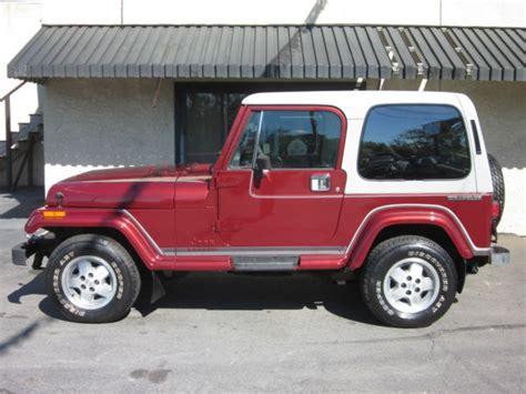 Jeep Wrangler Laredo 1988 Jeep Wrangler Laredo Sport Utility 2 Door 4 2l