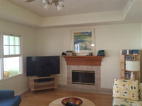 separation between kitchen and living room fireplace in between kitchen and living room fireplaces