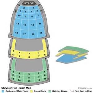 Chrysler Norfolk Seating Chart Vipseats Chrysler Tickets